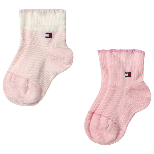 Tommy Hilfiger Pink Combo Socks 2-Pack pink combo