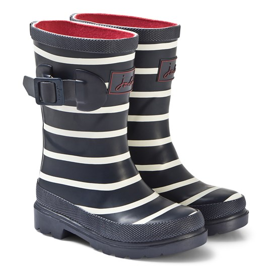 Tom Joule Blue Stripe Shark Wellies Blue Stripe Shark