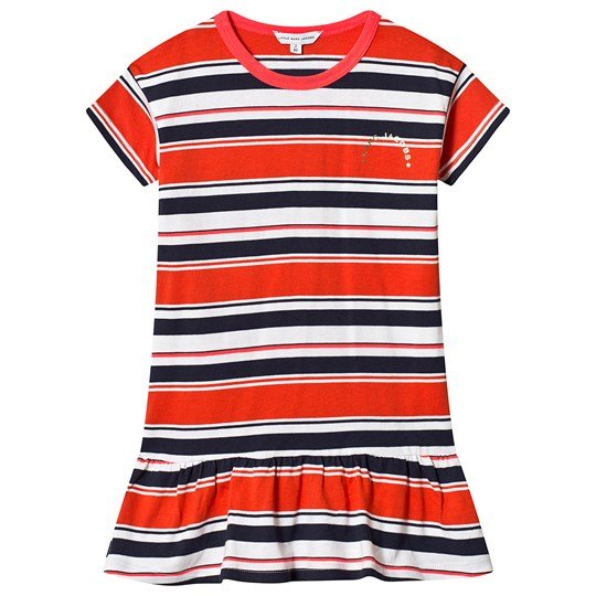 e51a88f1 Little Marc Jacobs - Red, Navy and White Stripe Jersey Dress ...