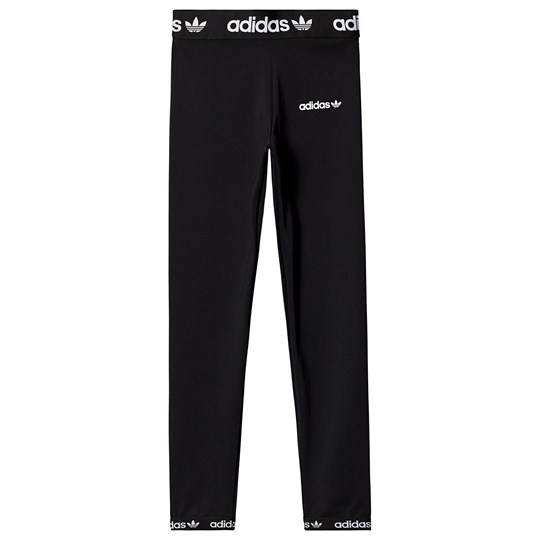 adidas Originals Black Branded Leggings Black
