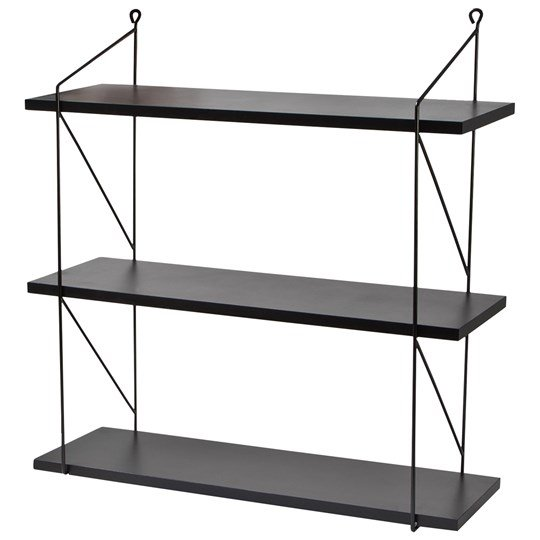 FORM Living 3-Level Wall Shelf Black