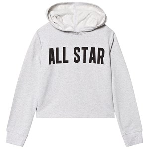 Converse Grey All Star Cropped Hoodie 8-10 years