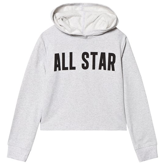 Converse Grey All Star Cropped Hoodie K3G