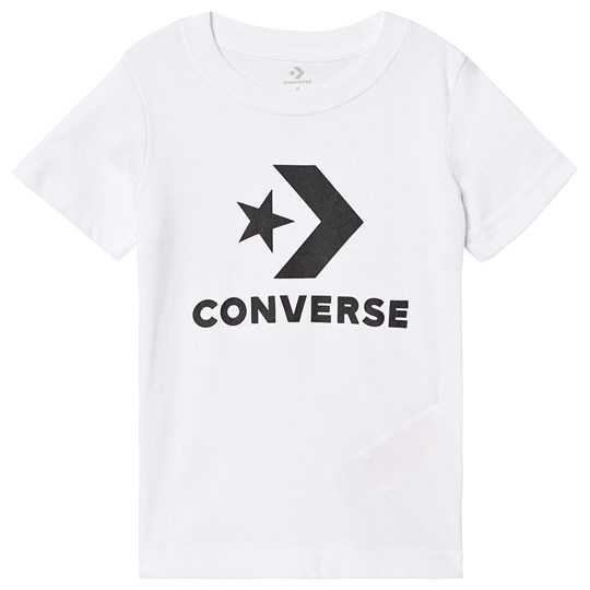 Converse White Logo Graphic Tee 001
