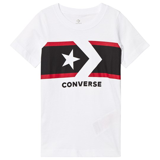 Converse White Star Chevron Tee 001