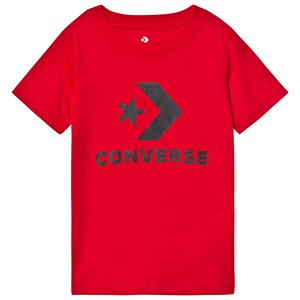 Image of Converse Red Logo Graphic Tee 3-4 years (3125295377)