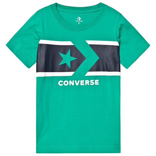 Converse Green Star Chevron Tee F1H