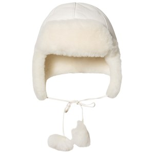 Image of Little Jalo Pom-Pom Hat White 44/46 cm (3125330169)