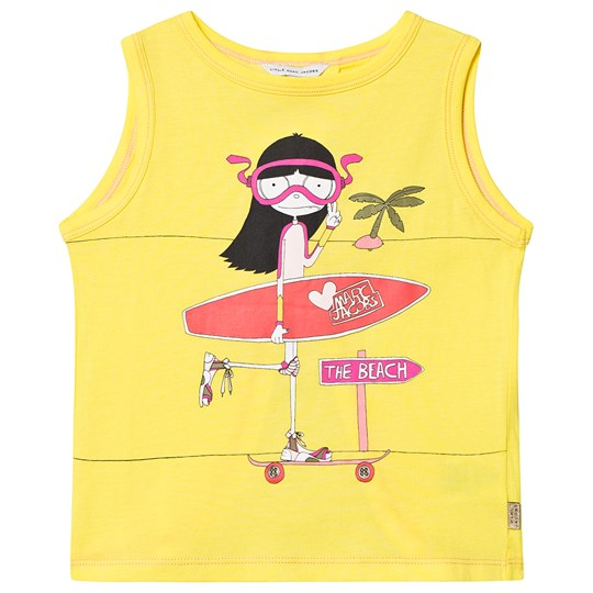 Little Marc Jacobs Yellow Miss Marc Top A43