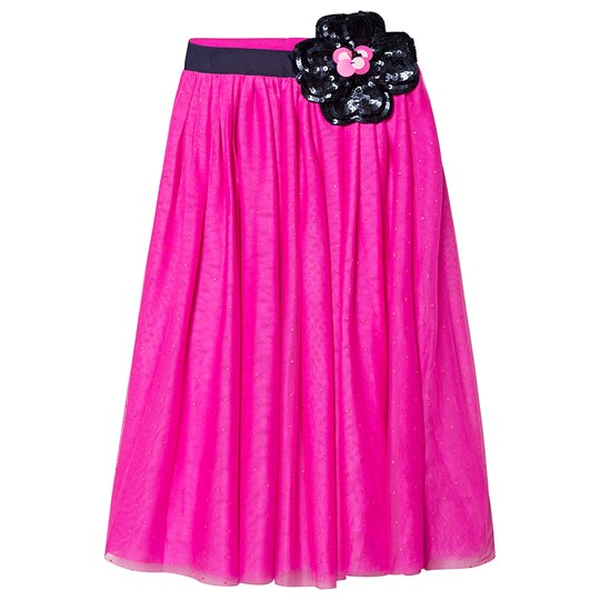 Little Marc Jacobs Hot Pink Tulle Skirt A43