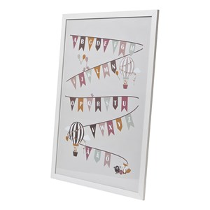 Image of FORM Living ABC Pennants Poster Frame (3125249257)