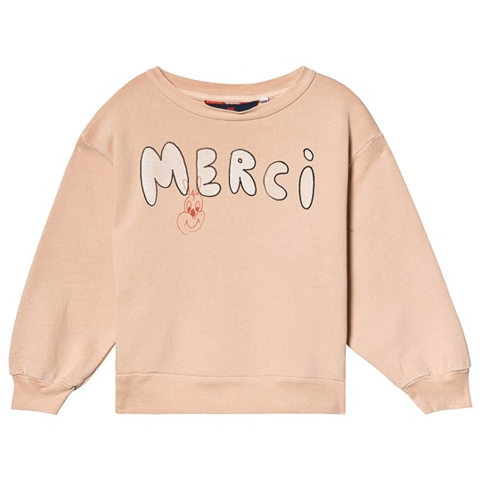 The Animals Observatory Bear Kids Sweatshirt Toasted Almond Merci Toasted Almond Merci
