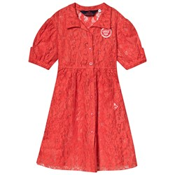 The Animals Observatory Dolphin Kids Dress Red
