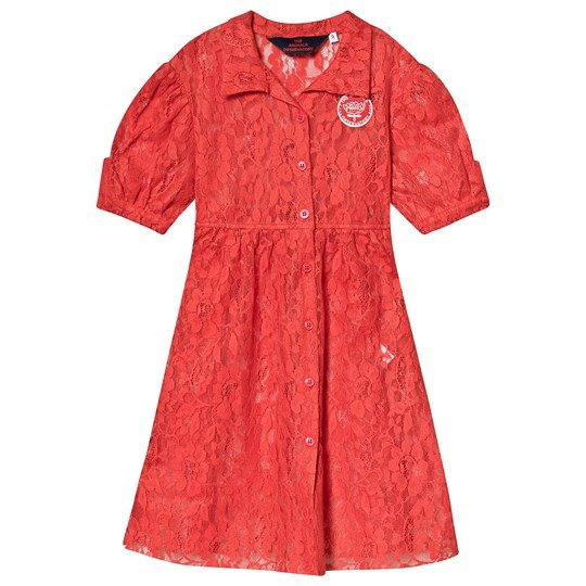 The Animals Observatory Dolphin Kids Dress Red Red