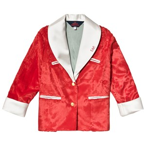Image of The Animals Observatory Cheetah Kids Coat Red Tao 10 år (1300182)