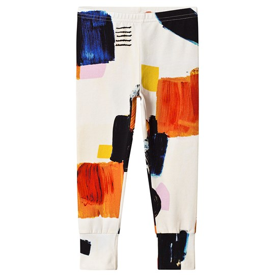 Papu Wall Art Fold Leggings Cream Cream