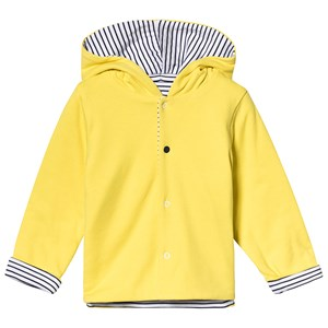 Image of Absorba Yellow and Navy Stripe Reversible Cardigan 12 months (3125308173)