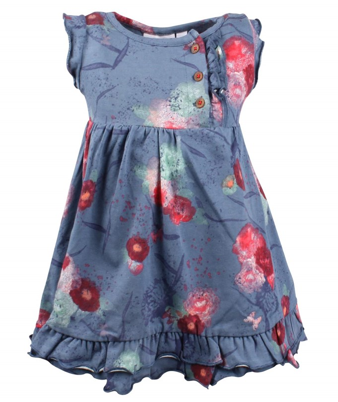 BABY GIRLS DRESS CUT BLUE 299.00