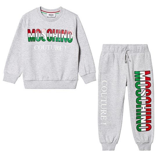 Moschino Kid-Teen Grey Moschino Couture Tracksuit 60901