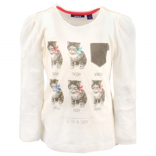 Mexx Kids Girls T-shirt Whisp White White