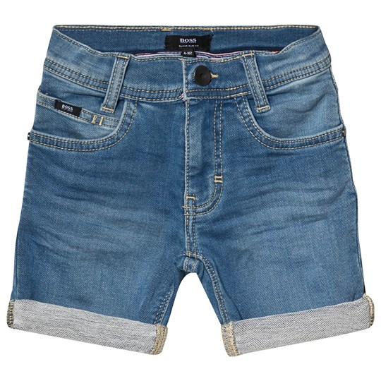 BOSS Light Wash Denim Shorts Z25