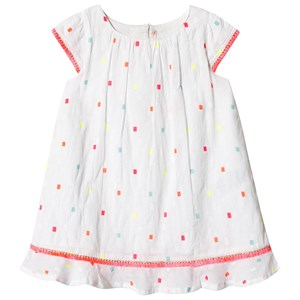 Image of Billieblush White Square Dress 18 months (3125254967)