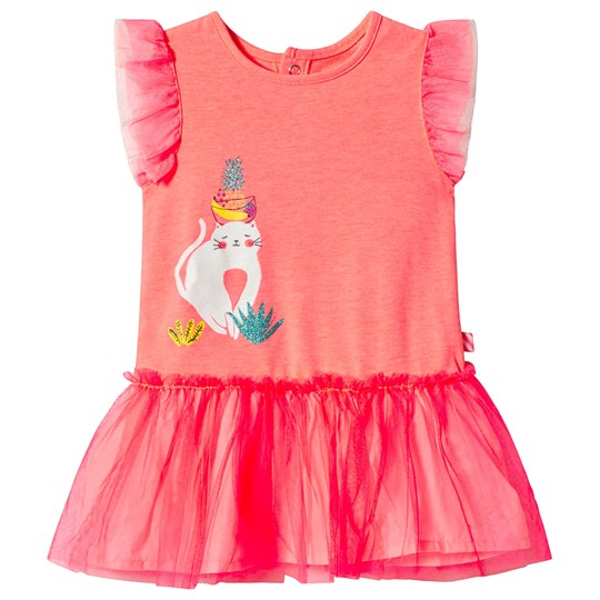 Billieblush Hot Pink Cat Tutu Dress