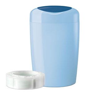 Image of Tommee Tippee Simplee Sangenic Diaper Disposal Blue (3125292913)