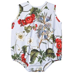 Image of Christina Rohde Floral Baby Body Blue 12 mdr (3125326445)