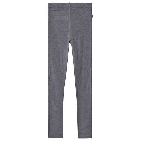 Joha Merino Wool Leggings Grey Musta