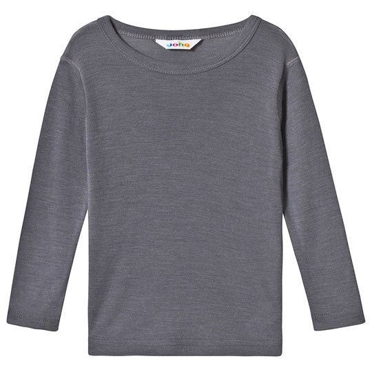 Joha Merino Wool Tee Grey Black