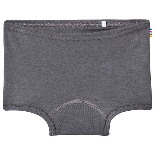 Joha Merino Wool Hipster Briefs Grey Black