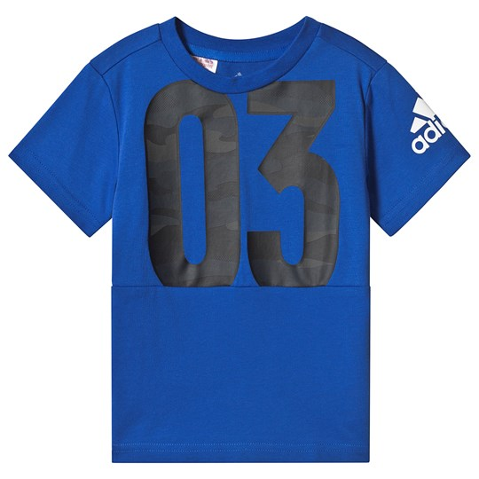 adidas Performance Royal Blue 03 Tee Blue/White
