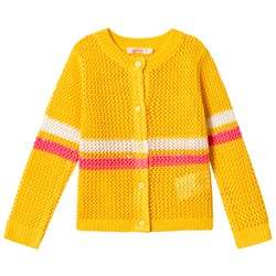 Billieblush Yellow Striped Cardigan