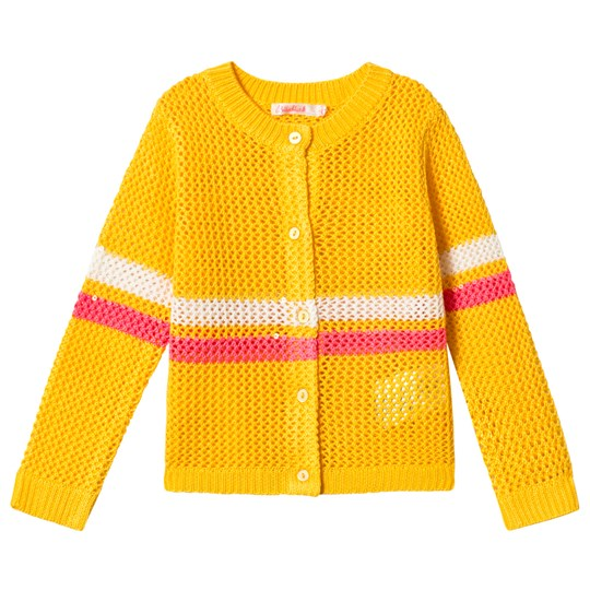 Billieblush Yellow Striped Cardigan 530
