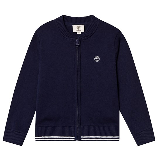 Timberland Navy Knitted Cardigan 85T