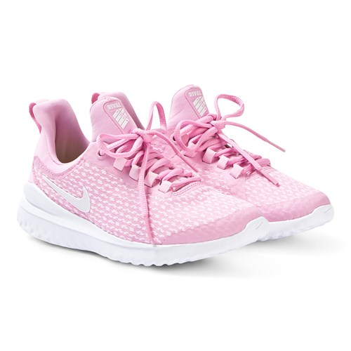 Pink Nike Renew Rival Running Shoes