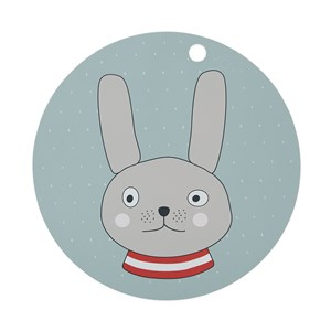 OYOY Rabbit Placemat One Size