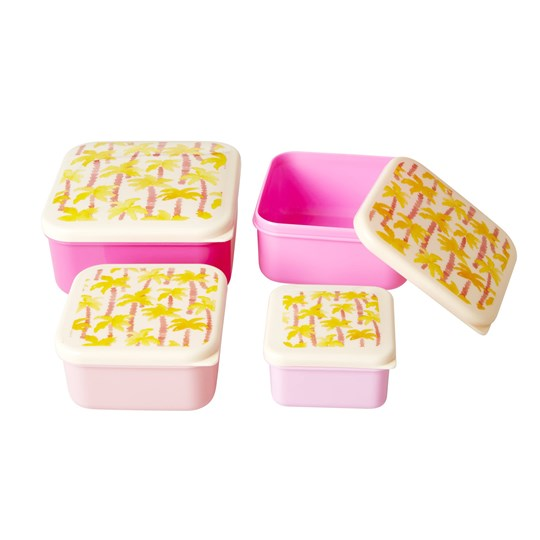 Rice - 4-Pack Food Boxes Palm Tree Print - Babyshop com