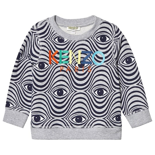 Kenzo Grey All Over Eye Print Sweatshirt 25