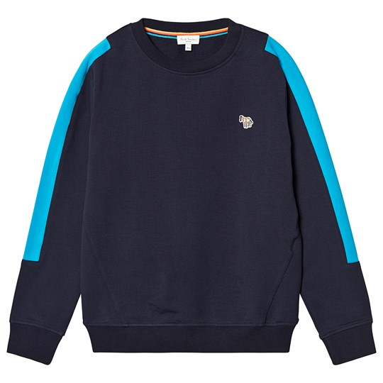 Paul Smith Junior Navy Zebra Patch Sweatshirt 492