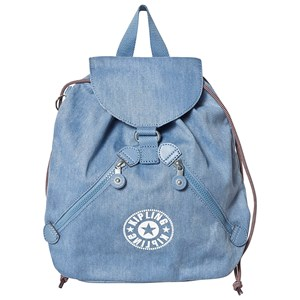 Image of Kipling Bustling Backpack Washed Bl Denim (3125330159)