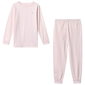 Image of Livly 2 Piece Pajama Baby Pink/gold 3 år (3125335747)
