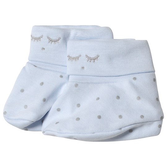 Livly Saturday Footies Baby Blue/silver Dots Baby Blue/silver Dots