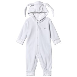 Livly Bunny Plush Onesie Blue/Silver Dots