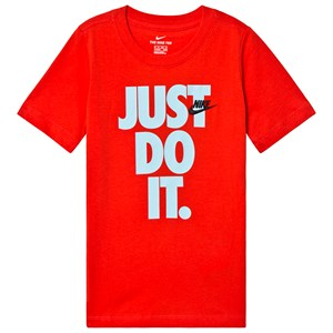 Image of NIKE Red Branded Just Do It Stack Tee XL (13-15 years) (3125318453)