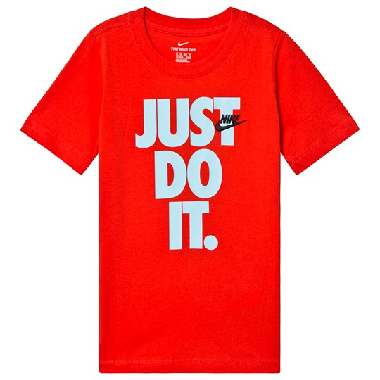NIKE Red Branded Just Do It Stack Tee 634
