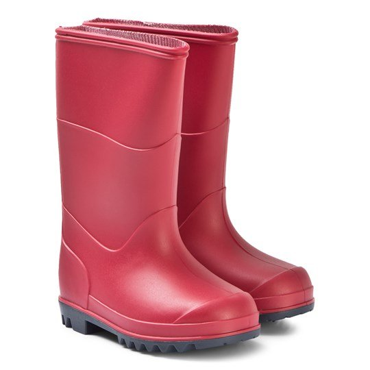Muddy Puddles Red Classic Rain Boots Red