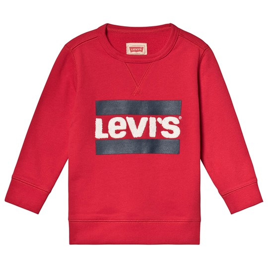Levis Kids Red Hero Logo Sweatshirt 37