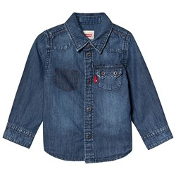 Levi's Kids Blue Denim Shirt